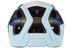 Lazer Beam hjelm MIPS blå/hvid